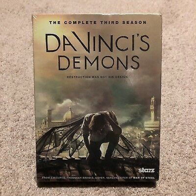 Da Vincis Demons: Season 3 (DVD, 2016, 3-Disc Set) NEW