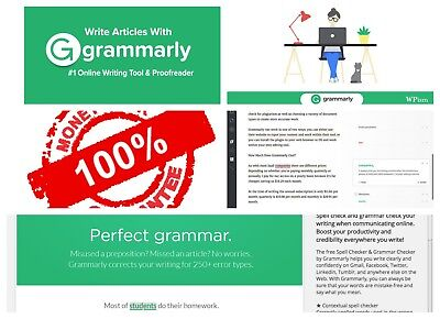 ***DISCOUNTED*** Grammarly Premium AUTO RENEW +++Account [Quick Delivery]