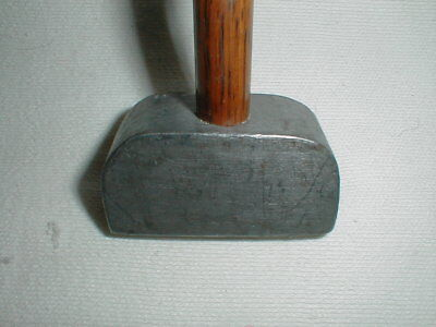 Antique Vintage Pendulum Steel Headed Putter Hickory Wood Wooden Shaft Golf Club