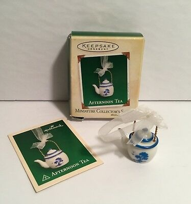 Hallmark Keepsake Afternoon Tea Miniature Collectors Series 2005 Ornament