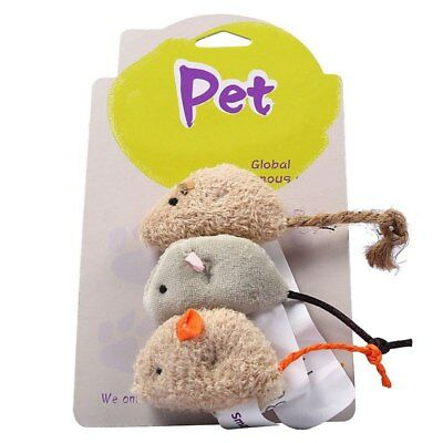 Plush Simulation Mouse Cat Toy Pet Bite-resistant Chew Playing Training Supplies