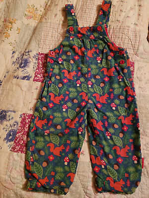 Toby & Tiger size 98 + Tutta size 92 crawler & overalls Waldorf TOADSTOOLS