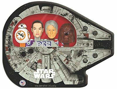 Star Wars, Pez, Collecable Tin, Millennium Falcon, New!