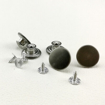 No Sew Jeans Buttons DIY Button Men Woman Unisex Hammer On 20mm Durable Buttons
