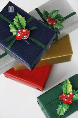 Clairefontaine 50 m x 0.70 m Nature Kraft Long Roll Wrapping Paper, Royal Blue