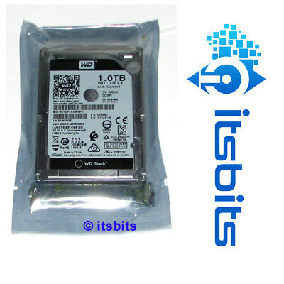 "Western Digital 1Tb Black 2.5"" Sata Laptop Drive 7200Rpm 32Mb Cache 5Yr Wd Wty"