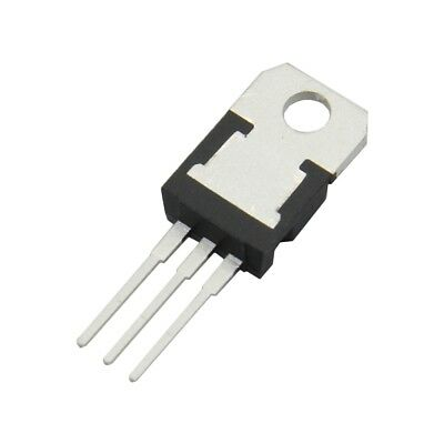 6x L7808CV Voltage stabiliser fixed 8V 1.5A THT TO220 0.51÷0.6mm