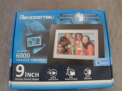 Pandigital 6 Inch Lcd Digital Photo Frame 899 Picclick