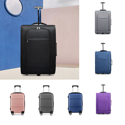 20'' Travel Luggage Cabin Check In Hold 4 Wheel Trolley Hand Suitcase EasyJet