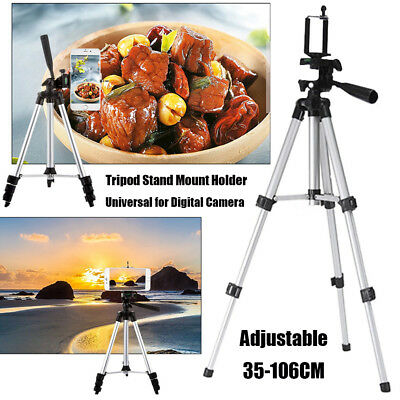 Tripod Stand Mount Holder For Digital Camera Camcorder Phone DSLR SLR Adjustable