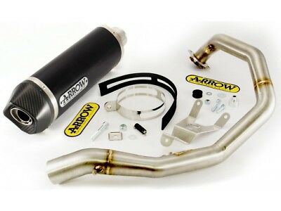 Kit Scarico Arrow Terminale AKN + Collettore KTM Duke 690 '08/11