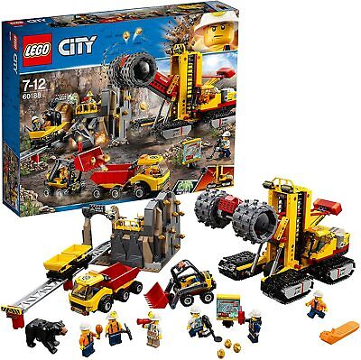 Miner Worker NEUF NEW LEGO City Minifigure CTY0884 Ouvrier Mineur