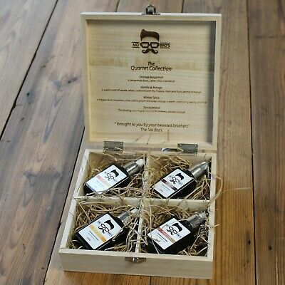 Beard Oil Care Kit | Adds Hydration | Softening | Conditioning | 120ml Oil