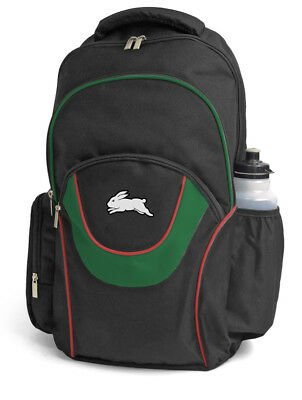South Sydney Rabbitohs NRL Fusion Backpack with 3 Compartments! School Bag