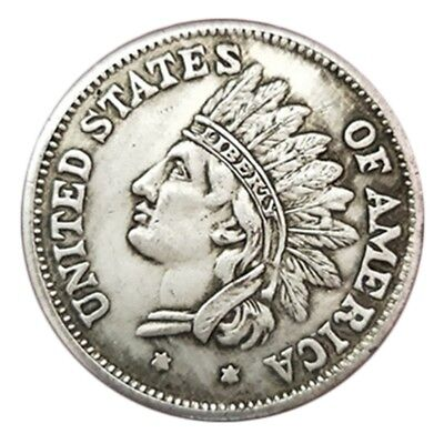 1851 United States of America Indian Head Portrait Commemorative Coin