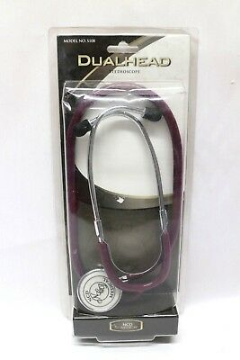Ncd Medical Dual Head Stethoscope S108 Burgundy