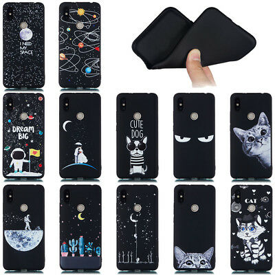 For XiaoMi Redmi 6A Note 5Pro/Note6 S2 Soft Silicone Painted TPU Back Case Cover