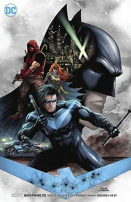 Nightwing #55 Variant - Dc Universe - Release Date 19/12/18