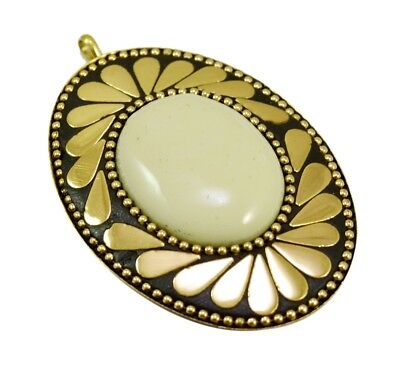 Ethnic Antique Vintage Boho Hippie Brass Plated Designer Jewelry Pendant P-527