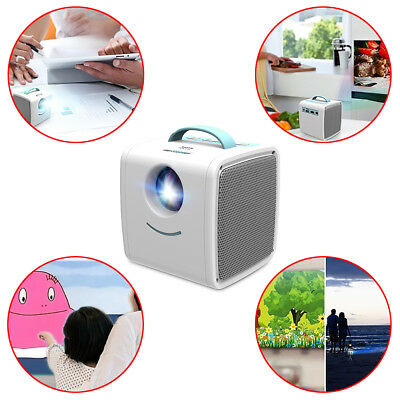 RC Miniature Home Video Projector Theater Party Video Game Protect Eyesight