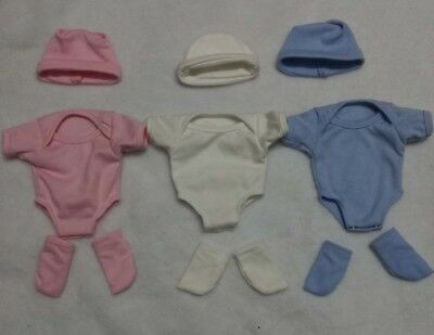 """1 Set colthes for 11"""" Newborn Baby for Reborn Boy/Girl Outfit"""
