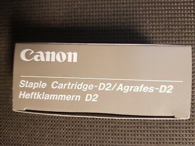 BRAND NEW UNUSED Canon Staple Cartridges D2 Code 0250A002[AD] 151C