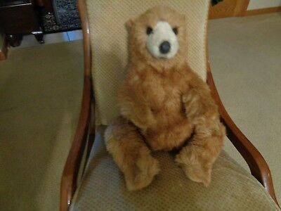 Avanti Plush Brown Bear 20 Inch Wallace Beerie Appause 1982( Free Shipping)