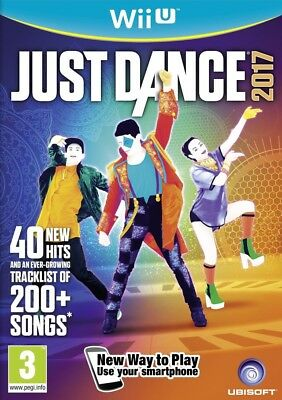 Nintendo Wii U game - Just Dance 2017 UK EN/GER boxed