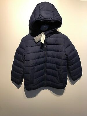 Boys Bluezoo Debenhams Padded Blue Coat Age 5-6 BNWT