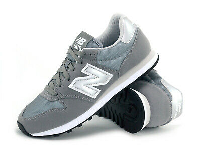New Balance 500 - Grey - Gm500Gry - Mens Trainers - Brand New - Retro Sneakers