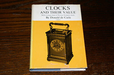 Clocks And Their Value With A Unique Chart Of Thomas Tompion  By Donald De Carle