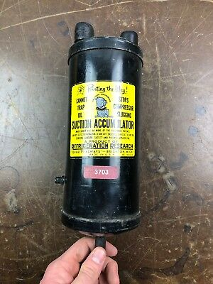 Refrigeration Research Suction Accumulator Part # 3703 FREE SHIPPING VO