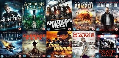 Bulk Buy - New And Sealed Dvds - 100 Dvds For £15