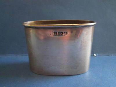 Antique Sterling Silver Spirit Flask Cup