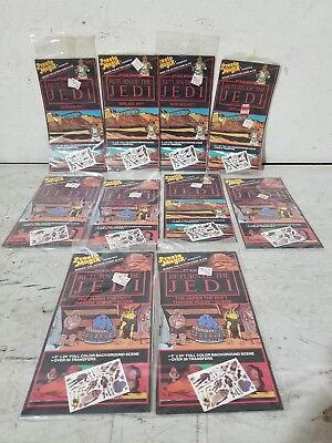 Lot of (10) Vintage 1983 Presto Magix Star Wars Return of the Jedi Transfers NIP