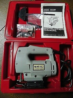 Vintage Skil Jig Saw 2 Speed Model 955 NEW in Case Never Used w/3 Blades/Tools