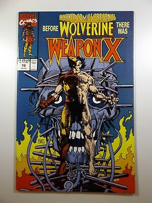 Marvel Comics Presents #72 Begin: Weapon X Saga!! Beautiful NM- Condition!!