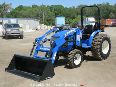 2016 New Holland Workmaster 37 Farm Utility Tractor 4WD Diesel 36HP Loader - NEW
