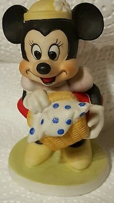 Vintage Walt Disney, Minnie Mouse, Ceramic Figurine, Excellent Condition