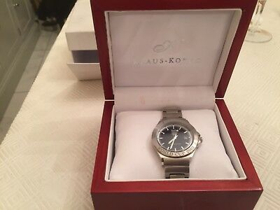 limited edition Klaus Kobec mens England World Cup watch 2002 excellent order
