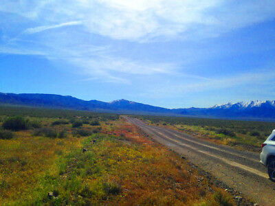 Super Rare! 46 Acre Nevada Ranch! Power~Maintained Road! Cash Sale! No Reserve!