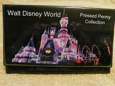 Elongated Pressed Penny Souvenir Album Book - Walt Disney World (2)