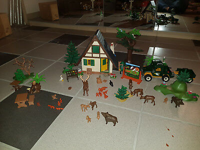 Playmobil Forsthaus Wald Waldtiere
