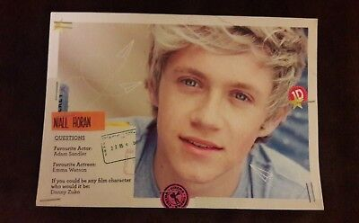 Niall Horan 1D promotional Postcard One Direction