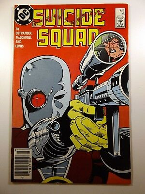 Suicide Squad #6 Awesome Deadshot Cover!! Gorgeous VF-NM Condition!!