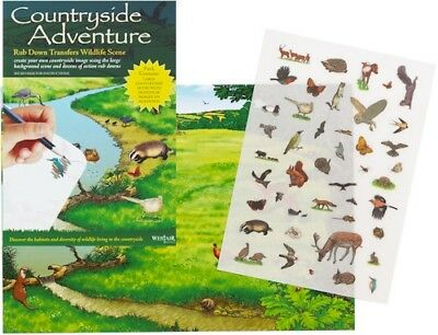 Childrens  COUNTRYSIDE ADVENTURE TRANSFER PACK new educational activity