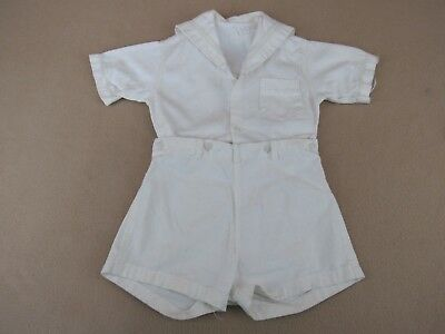 """Vintage Doll clothes Shorts & Top 20"""" Romper for large toddler baby doll"""