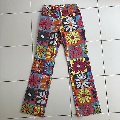 Moschino Vintage Printed Trousers