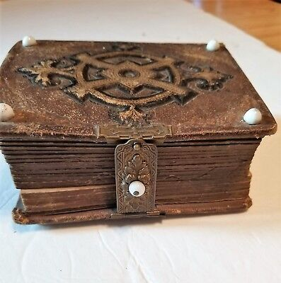Small Antique Victorian Photo Album