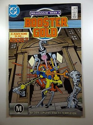 """Booster Gold #24 """"Betrayal!"""" Sharp VF-NM Condition!!"""